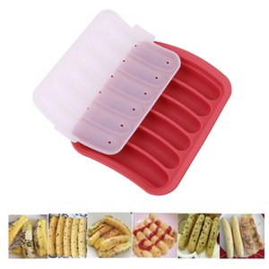 Silicone Hot Dog Mould Diy Homemade Sausage Molds Hot Dog Sausage Stuffer Baking Tools For Meat For a Sausage Making Machine