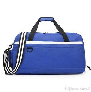 3 colors Women blue Fashion Casual Travel Bag Men Basketball Bag Shoes Storage Bags Oxford Outdoor Sports Handbag Male Single Shoulder Bag