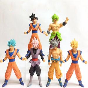 bola de dragón Z Newsale 26cm Figura MSP Maestro Estrellas pieza Vegeta Trunks Vegetto Son Goku Goku de chocolate negro PVC figura de acción de juguete