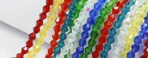 무료 배송 # 5301 10 색 DIY 쥬얼리 6mm FACETED 유리 크리스탈 Bicone 비드 MIX COLORS DIY 쥬얼리 만들기