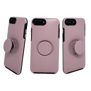 Stehen Symmetrie Telefon-Kasten für iPhone 11 Pro Max X Xs Max XR 8 Plus 7 6 6S Rugged Hybrid Rüstung Stoß- Telefon Shell-Kunststoff-TPU Haut