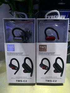 Macaron TWS C2 Wireless-5.0 Bluetooth-Kopfhörer earhook Blutooth Ohr- vs inpods 12 Tour 3 für iphone x 11 Samsung-Fabrikverkauf