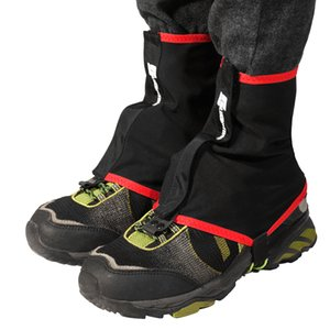1 paire de guêtres Sports de plein air Running Shoe Trail guêtres Housses de protection en nylon pour l'alpinisme course cycliste