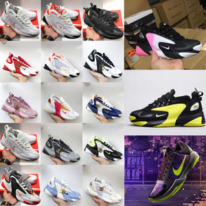 2020 newair zoom 2k zoomx m2k tekno vintage mens womens dad shoes triple white black casual sneakers designer fashion running size 46