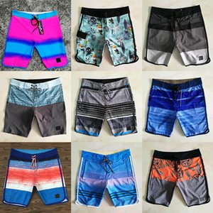 Mens Surfing Shorts Swimwear Marca Waterproof Bermuda Boardshort Verão Quick Dry Elastic Praia Shorts Homens Shorts Casual Designer 05