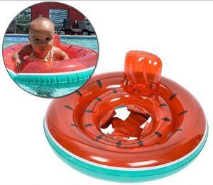 Varié été pastèque bébé anneaux set gonflables anneau flamants piscine flotteur gonflable enfants animal ananas bateau flotteur licorne