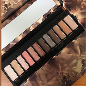 Haute qualité Reloaded EYESHADOW palette 12 couleurs fard à paupières Palettes Maquillage Nudité Palette Ombre à paupières Beauty Palette Matte Shimmer