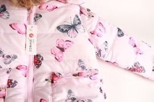 2019 Official Store Fashion Autumn And Winter Cute Children's Coat Baby Boys And Girls Winter Snowsuits kids jackets outwear