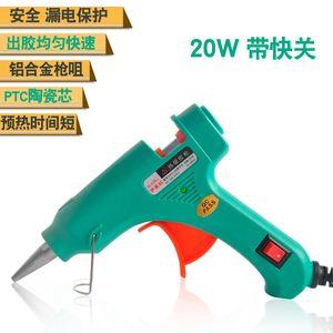 yi lai ke Sıcak Erimiş Adezif Tabancası Silikon Mastik Tabancası Xiao Jiao qiang Gönderilen Çubuk 20w Sıcak Tutkal EHG-2 EHG-2S