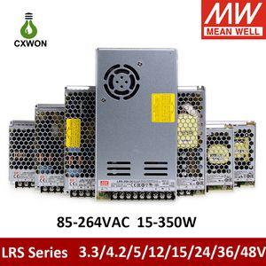 Meanwell Power Supply LED Driver LED Light Transformer LRS-350W-24V LRS-200W-24V 150W 100W 75W For Led Strip Light