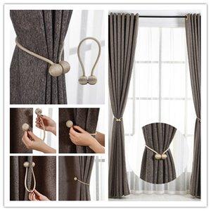 Bola de Pérola magnética Laço Cortina Dorsos Retalhos Fivela Clips Acessório Curtain Rods Accessoires belo produto de Decoração para casa
