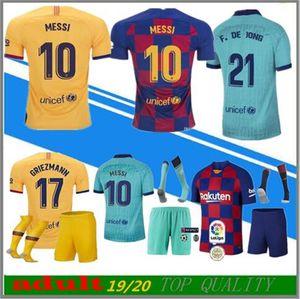 взрослый комплект носок 2019 2020 футбола Джерси 19 2020 футбола рубашки Camiseta де fútbol Майо-де-футовая равномерный с длинным рукавом