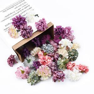 يوم زهور الزينة الحرير القرنفل زهرة رئيس جدار الأم العروس الزهور الاصطناعية بروش للزينة حزب الوطن
