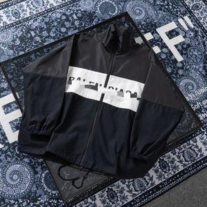 Париж весна тонкий мужская дизайнерская куртка повседневная мужская женская ветровка куртка защита от Солнца одежда Мужская одежда классический 4.27