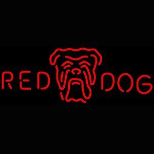 Yanıp sönen Pil Civa Lamba Tüp Red Dog Baş Logo Neon Tabela Fabrikası Fiyatı ile kumandalıdır alışveriş