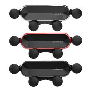 Новый универсальный Little One Автомобильный телефон алюминиевого сплава Мини Гравитация кронштейн держатель мобильного телефона Сотовый Стенд поддержки для телефонов
