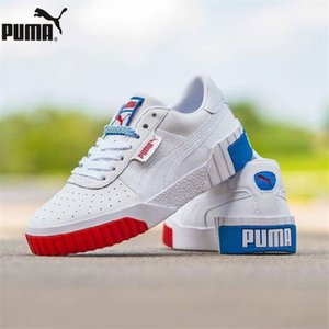 Großhandel Cali gewinnt Basket Plattform Euphoria Metall Damen-Turnschuhe Rihanna athletische Männer und Frauen Schuhe Größe EUR35.5-44
