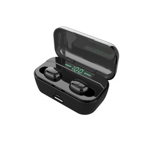 TWS Bluetooth Earphone Touch Control Wireless Headphones Wireless Bluetooth Earbuds HIFI Stereo With 3500mAh Power Bank Charger Box Stereo