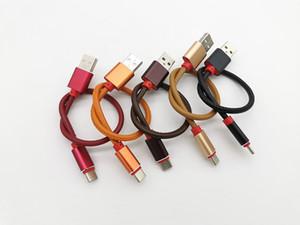 2.4 A Type C кабель металлическая оболочка кожа USB для быстрой зарядки Type-C кабель для передачи данных 25 см 20+