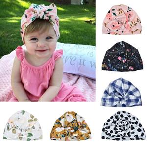 INS Yenidoğan Bebek Erkekler Kızlar Bebek Yumuşak Pamuk Güneş Şapka Çiçek ilmek Cap Bebek Turban Fotoğraf Dikmeler Hint Çiçek Cap Bebek Saç Bantları