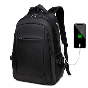 USB Charge защиты от угона Backpacks Мужчины Путешествия Водонепроницаемая ранцы колледж подросток мужчина 13/15/17 дюймов Laptop BackPac
