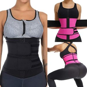 Женщины тела Shaper для похудения Пояс Пояс тренера Пояс Compression Brace поддержки похудения Пот живота Пояс Body Shaper