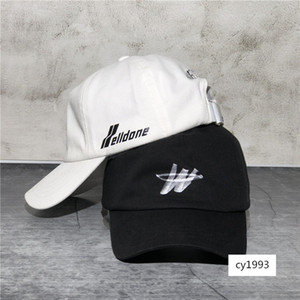 welldone sombrero gorra de béisbol we11done W carta marea del sombrero del sol del casquillo de la marca