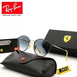 2019l Mens женщина дизайнер очки Модные солнцезащитные очки Goggle Adumbral Вождение автомобиля очки UV400 Модель 110 5 цветов высокого качества с коробкой