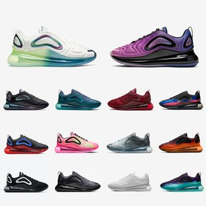 Nike Air max 720 shoes 2019 KPU Kraftstoff Orange Schwarz Speckle Pride Spirit Teal Männer Frauen Laufschuhe Gym Red Obsidian Ostern Pack Total Orange Herren Sportschuhe