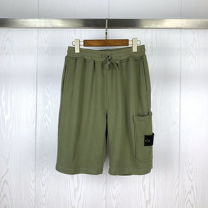 20SS Styliste Shorts Hommes New Arrival été Skateboard Pantalon Hip Hop Solid Color Hommes Styliste Shorts Taille M-2XL