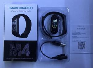 M4 Смарт Браслет Фитнес Tracker PK Ми группа 4 Fitbit Стиль Спорт Смарт Часы 0,96 дюйма IP67 водонепроницаемый давления сердечного ритма крови