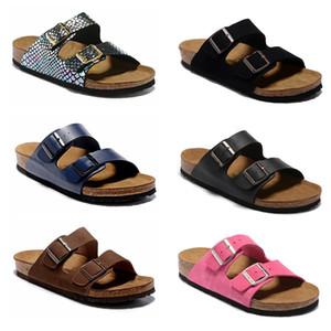 2019 Arizona Mayari Gizeh street summer Uomo Donna sandali rosa appartamenti Cork pantofole unisex Sandy beah scarpe casual stampa taglia mista 34-45