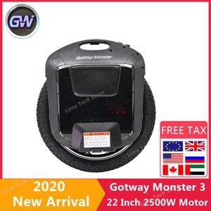 Originale 2020 Gotway 3 monociclo auto motorino elettrico da 22 pollici 2500W Motore 84V / 100V Batteria Una ruota di skateboard