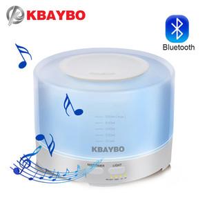 Evde için Bluetooth Müzik Hoparlör ile 500ml Ultrasonik Hava Nemlendirici Aroma Elektrikli Aromaterapi Uçucu Yağı Aroma Yayıcı