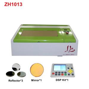 Mini 4040 CO2 Grabador láser grabado 40W máquina de corte con panel de control LCD Panel de abeja Puerto USB Tamaño de trabajo 400 * 400mm
