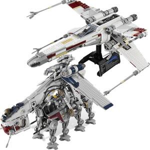 Yeni Yıldız Tie Fighter X Kanat MicroFighters Savaşları AT Walker Uzay gemisi Blok Yapı Oyuncak