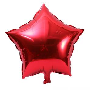 Balloon Fivepointed Star Cross Border for Wholesale Wedding Birthday Decorative Balloon Novelty & Gag Toys Decoration 5Inch Fivepointed Star