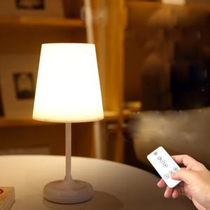 Nueva lámpara de calentamiento sencillo control remoto creativa lámpara de escritorio inalámbrico táctil de carga dormitorio de noche la luz del dormitorio la noche
