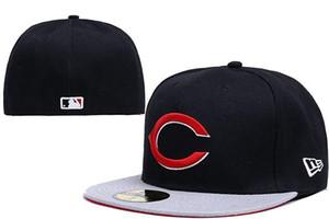 Yeni Donatılmış şapka sunhat Cincinnati şapka Kırmızılar kap Takım Beyzbol İşlemeli Takım Düz Ağız Yetişkin Beyzbol