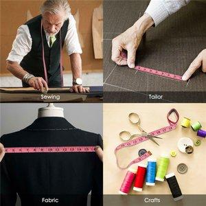 Cuerpo de cinta de medición de la regla de costura de tela a medida Medir suave plana centímetro 150cm