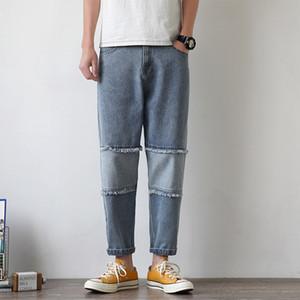 Jeans Men Stretch Denim Trousers Male Autumn Straight Streetwear Pencil Hip hop Jeans Plus Size Classic Trousers Denim Pants Ma