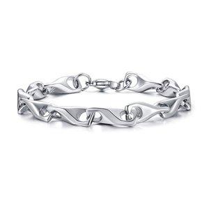 bracelets pour les femmes charme bracelet en acier inoxydable STEE inoxydable sur le charme de la main Accessoires pour hommes simples bijoux manuel Fasion