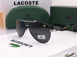 kutu ile 1pcs tasarımcı yepyeni klasik pilotun güneş gözlüğü moda kadın güneş gözlüğü vassl UV400 mat altın çerçeve yeşil ayna 58mm lens