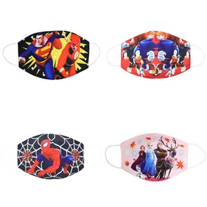 Sweet 3Pcs Children's Face party Maks Marvel Sponge Anti-Dust Protective Maks waterproof for Boys Girls 3-12Y sweet07 nmCGW