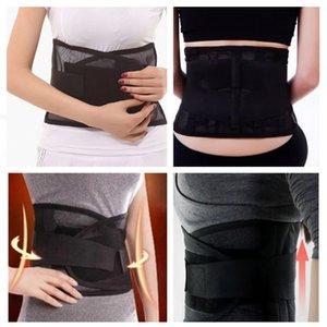2017 Da cintura para apoiar a protecção cintura fina malha respirável lombar Apoio de aço placa de proteção cinto de segurança Sports