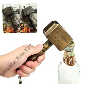 Abridores de Garrafa de cerveja Multifunções Martelo De Thor Em Forma de Abridor De Garrafas De Cerveja Com Longo Lidar Com Engarrafador Abridor De Cerveja