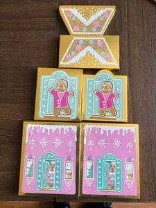 Hot Sale оо Face Christmas Cookie House Party 3 цвета румяна палитра 6 цветов / 20colors тени для век мерцание и матовые палитр доставка бесплатно