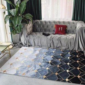 Tapetes De Casa De Moda Moderna Padrão Geométrico Carpetes Suaves Novos Nordic Simples Sala De Estar Quarto De Café Tapetes De Mesa / Tapete