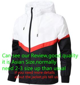 Progettista di marca Giacca 2018 marea moda Mens del cappotto del rivestimento lettere lusso Stampato Mens Hoodie Abbigliamento casual Sport Outdoor frangivento L-4XL