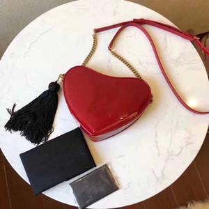 Le donne borse griffate in pelle nuovo brevetto di lusso arrivo donne del cuoio genuino di lusso famoso spalla della borsa del messaggero sacchetti trasporto libero